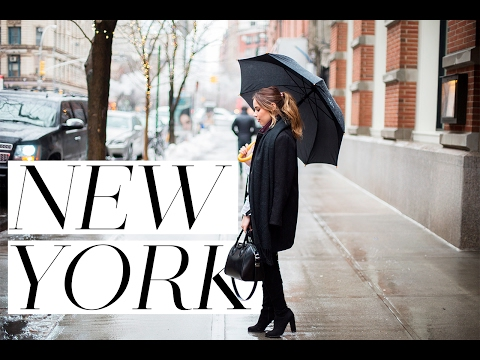 THE NEW YORK VLOG! | WHAT HAPPENED AT NEW YORK FASHION WEEK | Hello October | AD