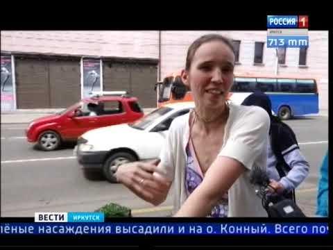Шестая часть прошлогодних саженцев на улице Карла Маркса в Иркутске не прижилась
