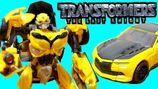 トランスフォーマー 最後の騎士王 バンブルビーのおもちゃを開封紹介⭐  ...