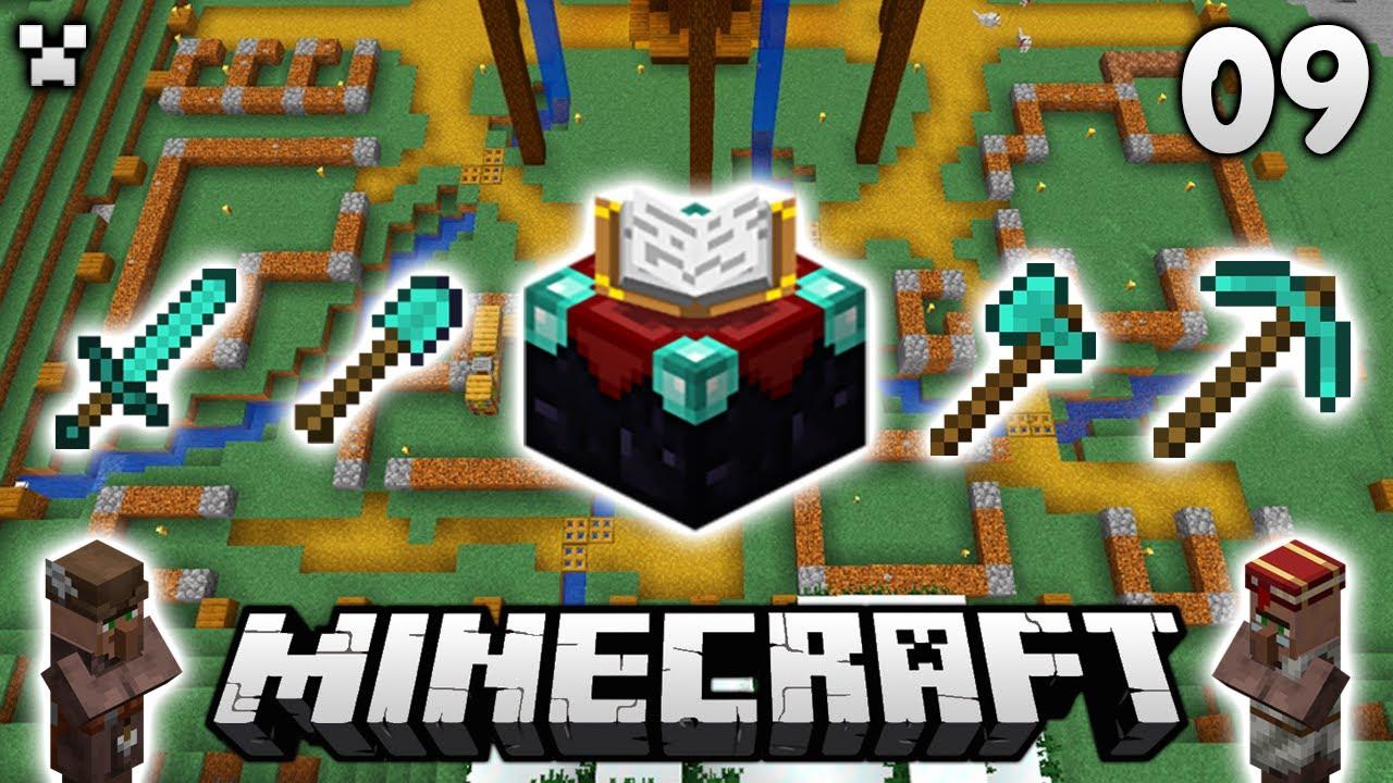 MEGA UPGRADES! | Let's Play Minecraft Survival Ep.9
