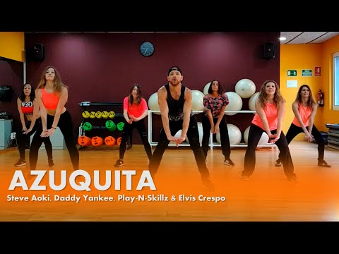 Azuquita - Steve Aoki, Daddy Yankee, Play-N-Skillz & Elvis Crespo - Zumba - William Morales
