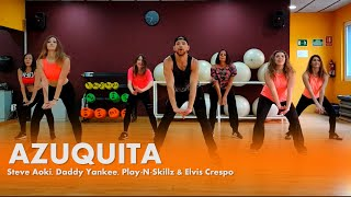Azuquita - Steve Aoki, Daddy Yankee, Play-N-Skillz &amp Elvis Crespo - Zumba - William Mor ...