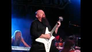 Rhapsody of Fire - Unholy Warcry [LIVE]