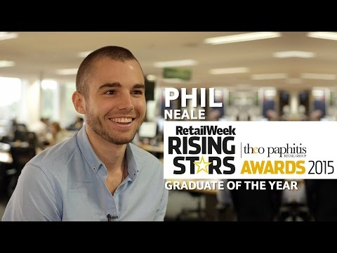 RWRS 2015 | Phil Neale | Shortlisted for Graduate of the Year