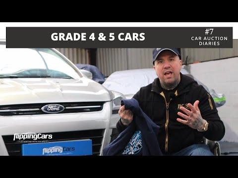 Car Auction Grade 4 & 5 | The Car Auction Diaries #7