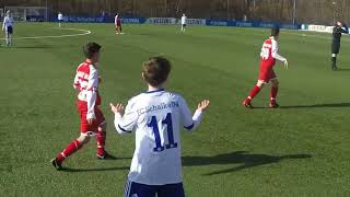 U13 Jhg2005 FC Schalke 04 - 1. FSV Mainz 05; LV im NLZ Gelsenkirchen 18.02.2018