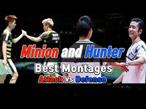 Minion And Hunter!! Best Rally Compilation - Sukamuljo/Gideon Vs Watanabe/Endo