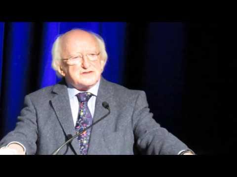 Irish Men's Sheds International Festival 2014 - President & Patron, Michael D. Higgins