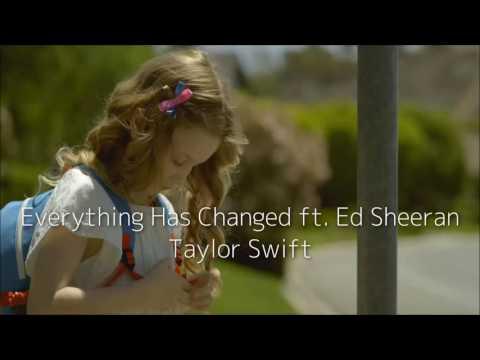 Everything Has Changed ft. Ed Sheeran - Taylor Swift (日本語字幕)