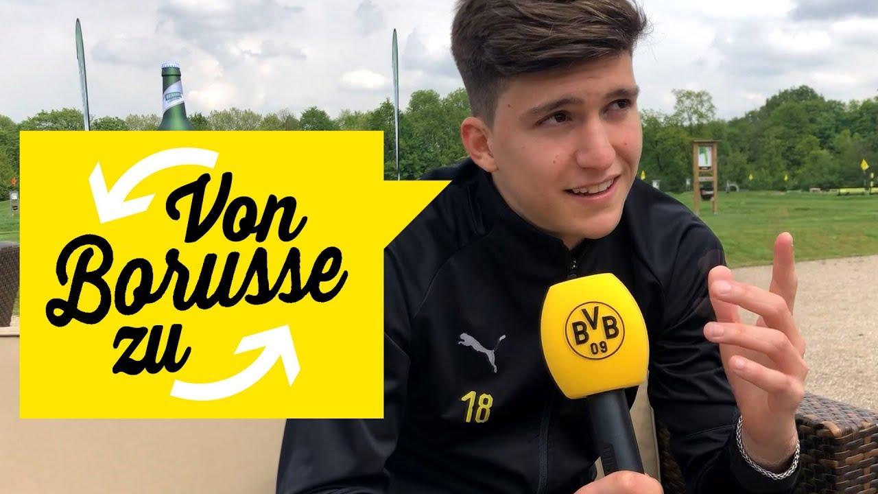 "Messi oder Maradona? | Eure 09 Fragen an Leonardo Balerdi | ""Von Borusse zu Borusse"" |"