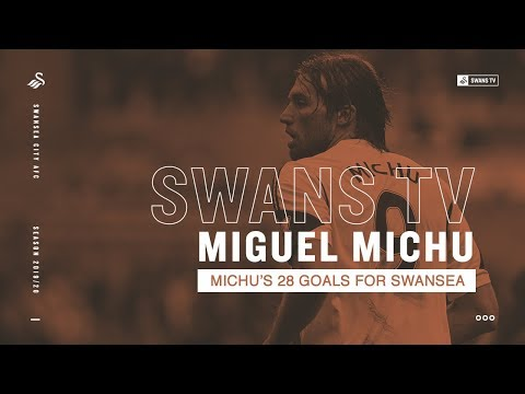 MICHU | All 28 Goals for Swansea City