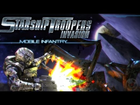 Starship Troopers Invasion Mobile Infantry - iPhone & iPad Gameplay Video
