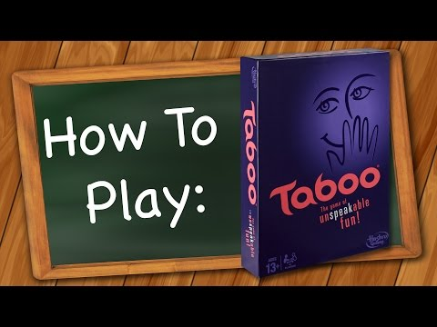 How to Play: Taboo