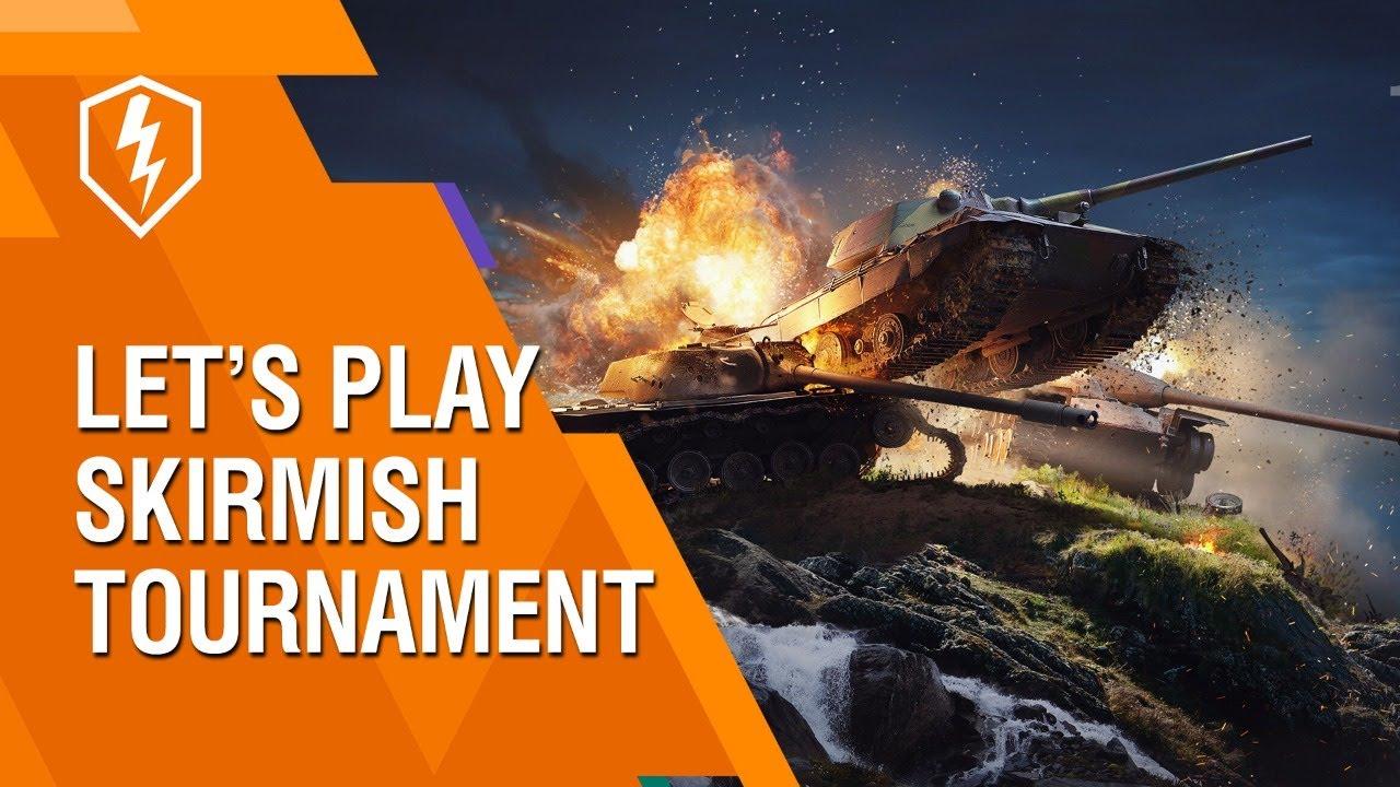 WoT Blitz. Skirmish Tournament With Developers