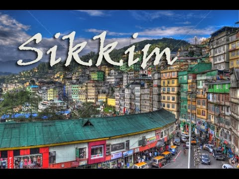 A beautiful video on Sikkim (सिक्किम), Places of Attraction around Gangtok and North Sikkim Tourism.