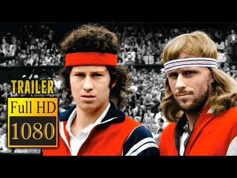 🎥 BORG MCENROE (2017) | Full Movie Trailer in Full HD | 1080p