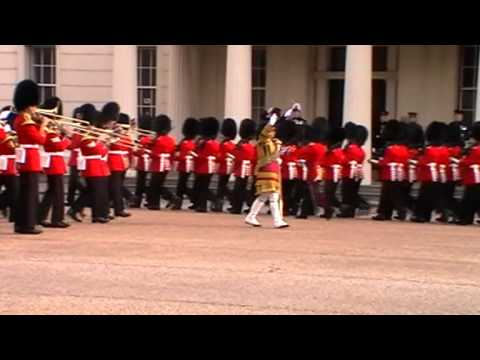 Major General's Inspection at Wellington Barracks - March 2014
