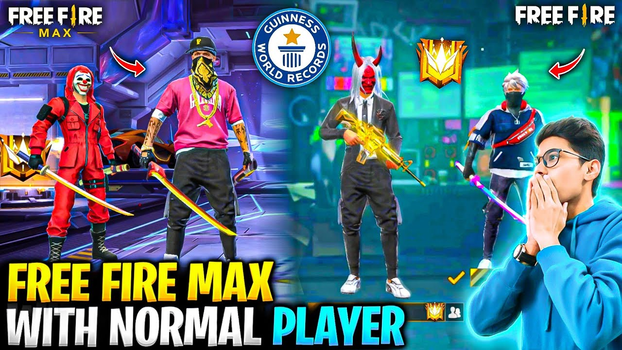 Download Can Old Normal FF Players Play with Free Fire Max Players🤯🔥Experiment🤫!!