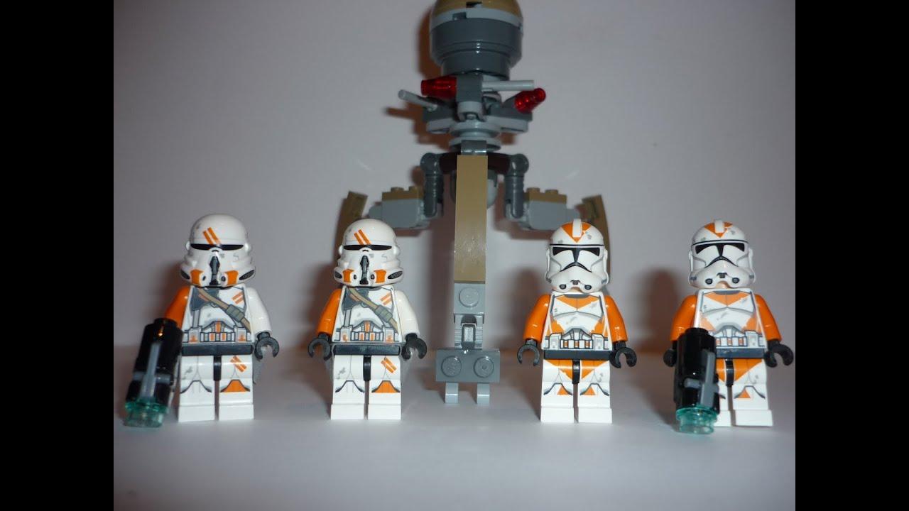 LEGO Star Wars Utapau Troopers Battle Pack 212th Review ...