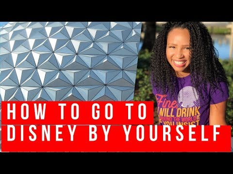 Solo Theme Park Tips (Why You Must Go to Disney Alone)