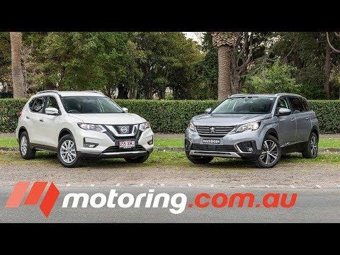 2018 Nissan X-TRAIL V Peugeot 5008 Comparison   Motoring.com.au