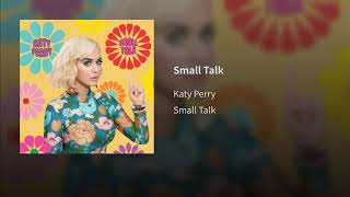 Gambar cover Katy Perry - Small Talk (Audio)