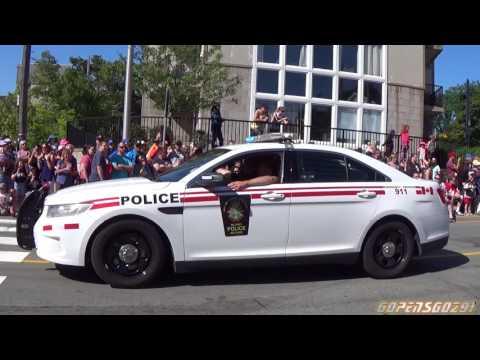 halifax Regional emergency vehicles responding to calls compilation #3
