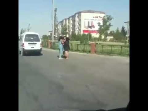 Женская драка в Узбекистане
