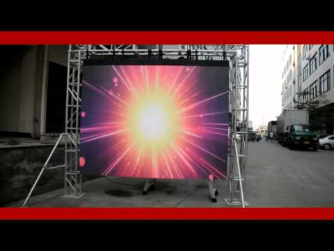 Outdoor P6mm LED video wall flexible video curtain panel for mobile rental concert,tours,live show