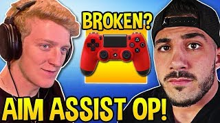 tfue-shows-proof-aim-assist-is-broken-nickmercs-challenge-to-all-pc-pros-fortnite-moments