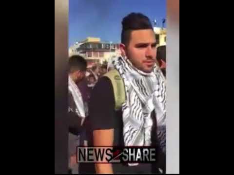 Protesters Burn Israeli Flags in Jordan in Response to Trump's Embassy Move