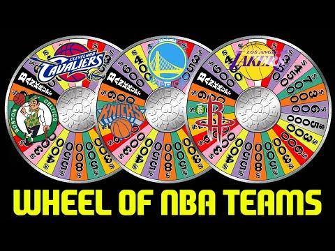WHEEL OF NBA TEAMS RANDOM SQUAD! NBA 2K17 MYTEAM ONLINE GAMEPLAY