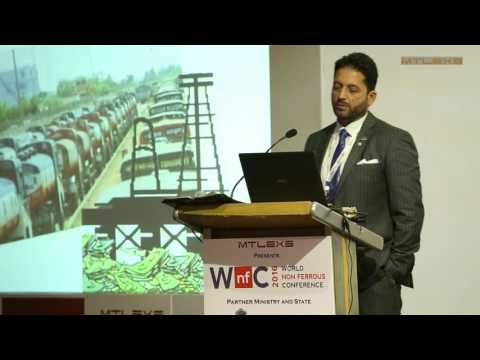 Engr Salam Al Sharif, Chairman, BMR, UAE : World Non Ferrous Conference 2016