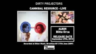 Dirty Projectors - Cannibal Resource (Live)