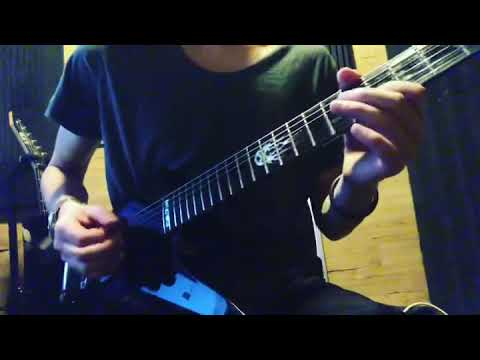 As I lay dying-My own grave solo cover