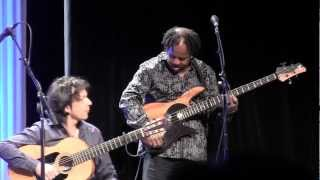 "[72] ""Sex in a Pan"" Victor Wooten-led Finale at NAMM'13 All-Star Guitar Night- Muriel Anderson"