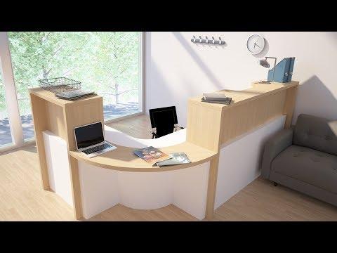 imos iX 2019 - Custom Reception Desk Tutorial