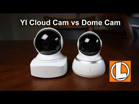 Yi Cloud Home Camera vs Yi Dome Camera What's The Difference? Unboxing,  Features and Settings Review