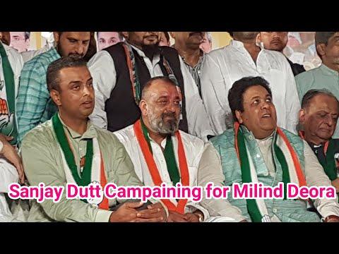 Sanjay Dutt at Madanpura Mumbai 26/04/19