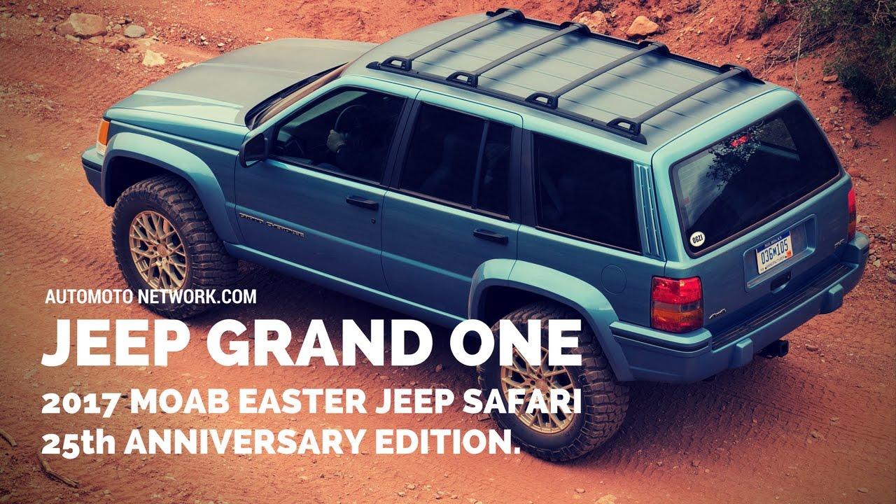 jeep grand one concept celebrates the 25th anniversary of the 1993 rh youtube com