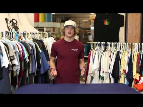James Gang Printing | How to Heat Transfer a Logo to Tshirt | San Diego CA