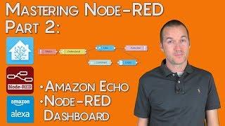 Mastering Node-RED: Custom Alexa Commands + Node-RED Dashboard
