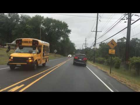 Driving w/ dash cam: Lincroft NJ to Freehold NJ
