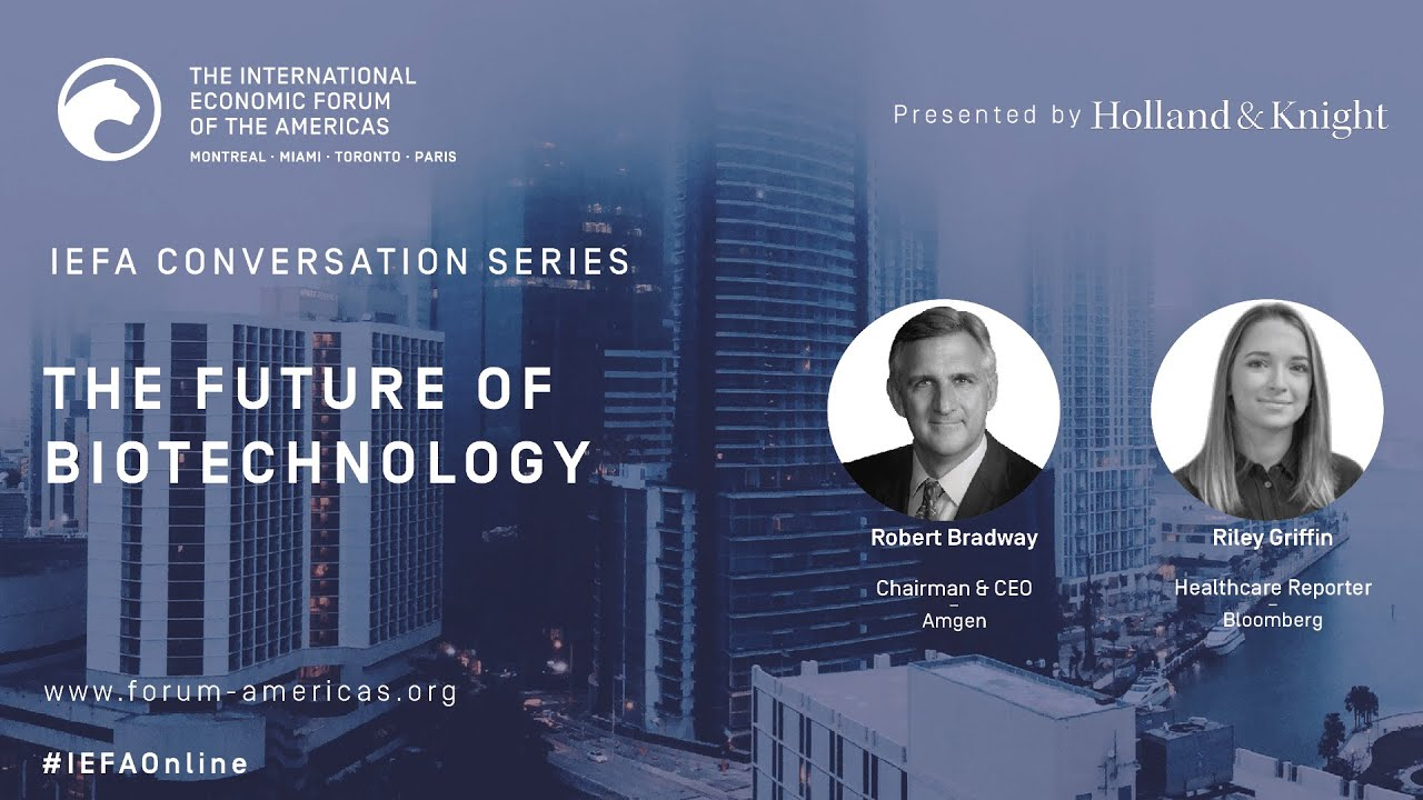 The Future of Biotechnology | IEFA Conversations Series