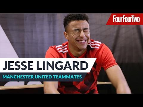 Jesse Lingard | Manchester United teammates