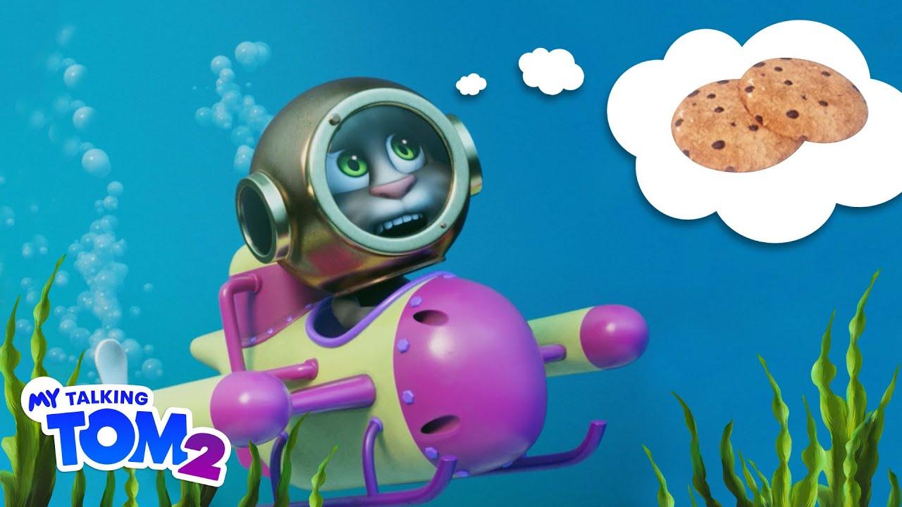 🍪 The Cookie Adventure 🍪 My Talking Tom 2 (NEW Cartoon Trailer)