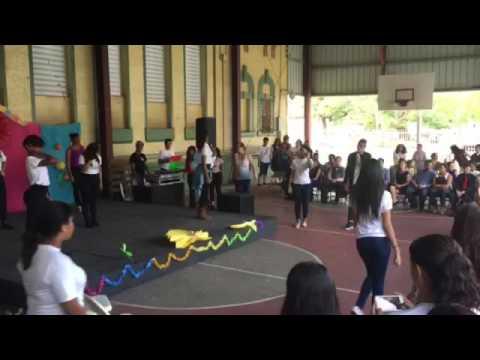 Grupo de danza de la Escuela Rafael Cordero Molina 2k16