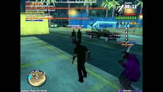 Grove Streets leader VS. The Ballas leader - bat fight