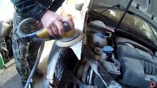 Volkswagen Golf Auto body repair  покраска фара крыло бампер