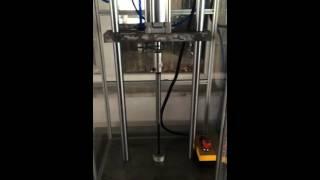 Испытательный стенд для газовых пружин(Испытательный стенд на контроль циклов сжатия - один из этапов контроля качества на производстве фабрики..., 2015-10-14T09:25:19.000Z)